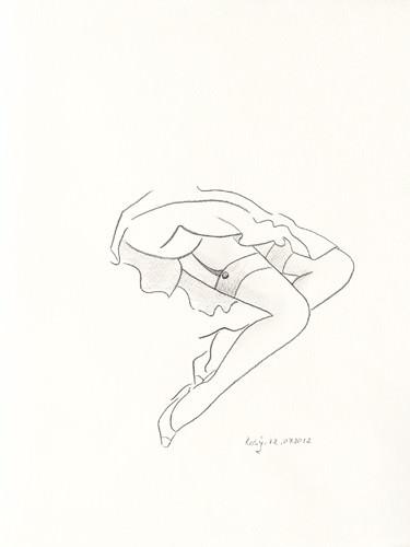 Serie Beine I von Rosy Schneider