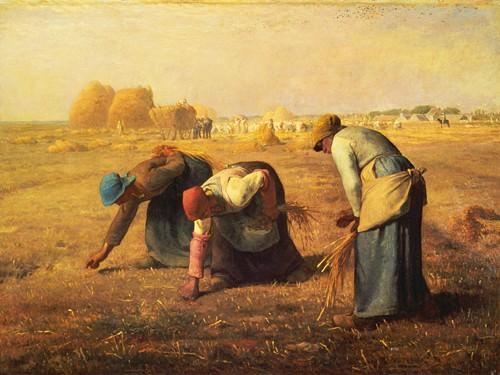 Die Ährensammlerinnen von Jean-Franeois Millet