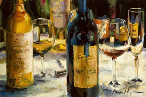 Bordeaux and Muscat von Marilyn Hageman