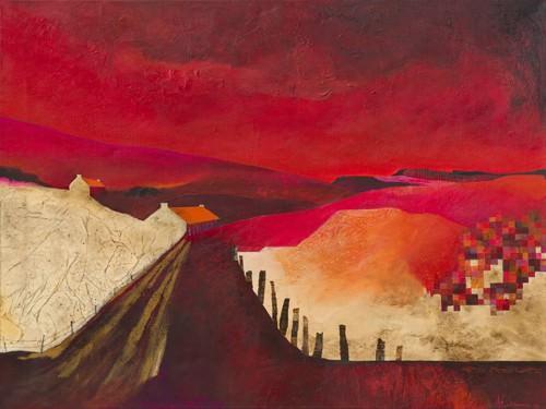 Pixel Landscape von Margreet Holtkamp