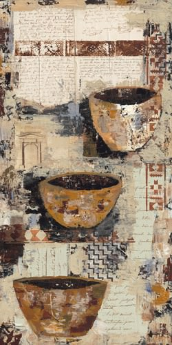 Old Pots I von Sandee Shaffer Johnson