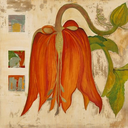 California Flower von Rose Richter-Armgart