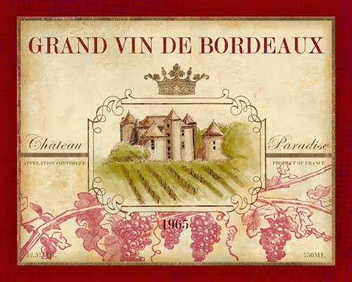 Grand Vin de Bordeaux von Devon Ross