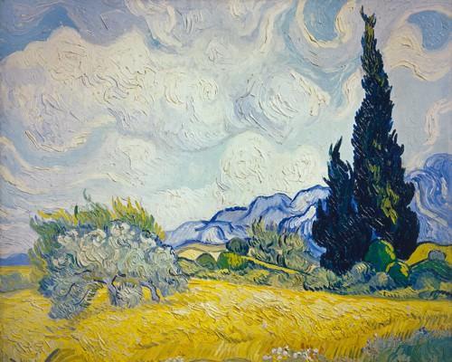 Zypresse von Vincent van Gogh