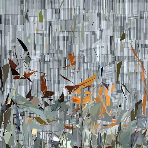 New York Garden II von Ferdinand Vogel