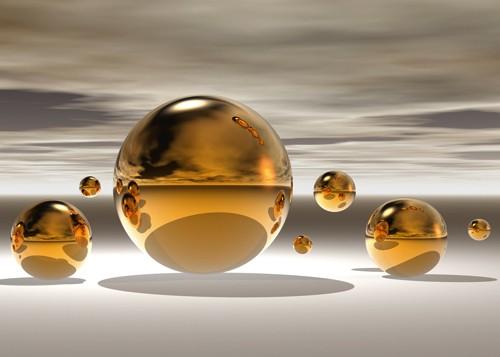 Golden Bowl II von Peter Hillert