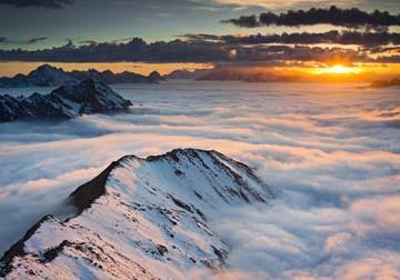 Berggipfel III von Rainer Mirau