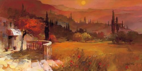 Romantic Tuscany I von Willem Haenraets