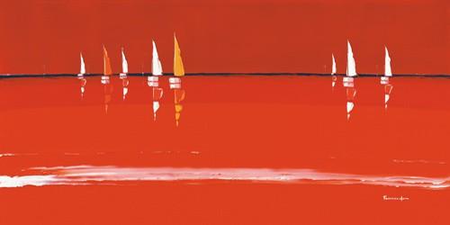 Soleil rouge von Guy Fontdeville