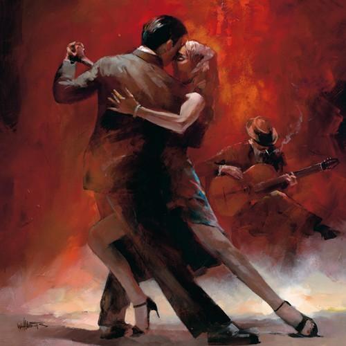 Tango Argentino II von Willem Haenraets