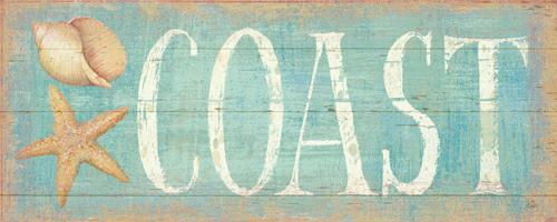 Pastel Coast von Daphne Brissonnet