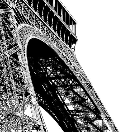 Tour Eiffel Curve von Dominique Massot