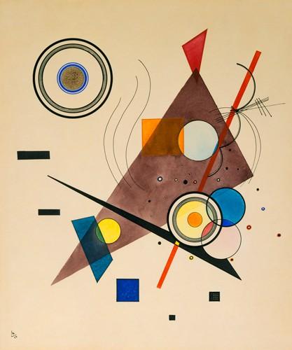 Komposition 1923 von Wassily Kandinsky
