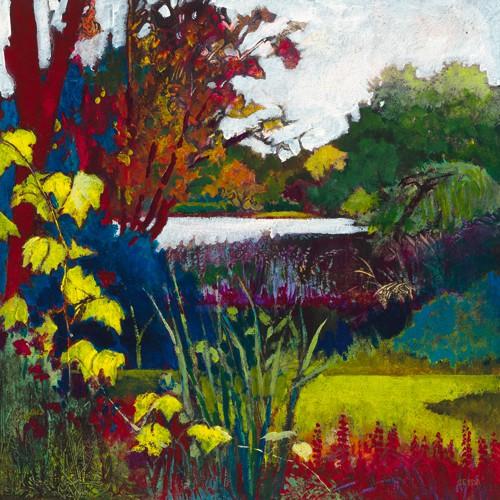 Vigne jaune von Caroline Cerde