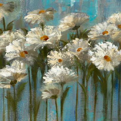 Daisies by the Lake von Silvia Vassileva