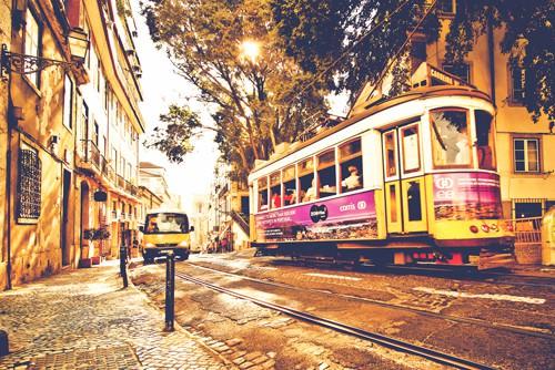 Lisboa Street von Lusitano Photographie