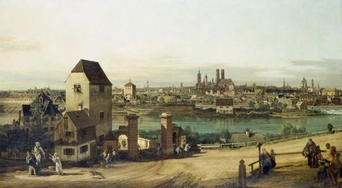 München, von Haidhausen aus von Canaletto
