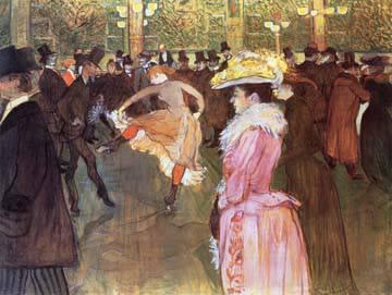 Ball im Moulin Rouge von Henri De Toulouse-Laut