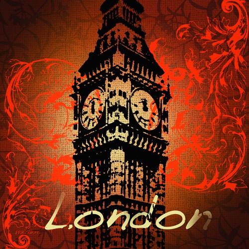 London Monument von Malcolm Watson Art