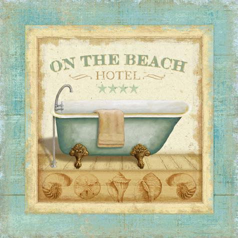 Beach Hotel I von Daphne Brissonnet