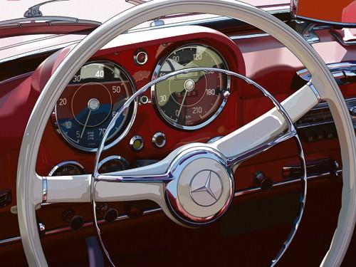 190 SL von Pierre Strapelias - PR