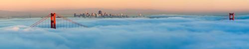 Foggy City von Jeffrey Murray