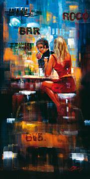 Bar Scene III von Madjid