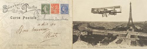 Lettre de Paris I von Wild Apple Portfolio