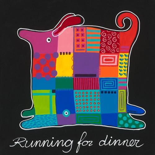 Running for dinner von Y. Hope