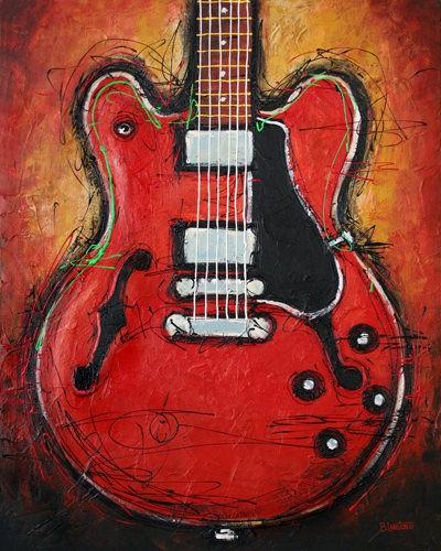 Blues King von Bruce Langton