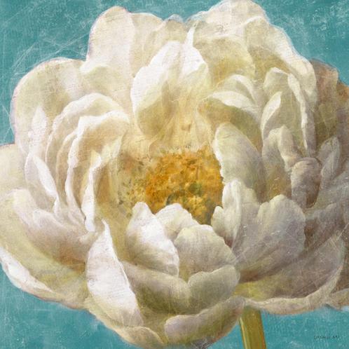 Turquoise Bloom I von Danhui Nai
