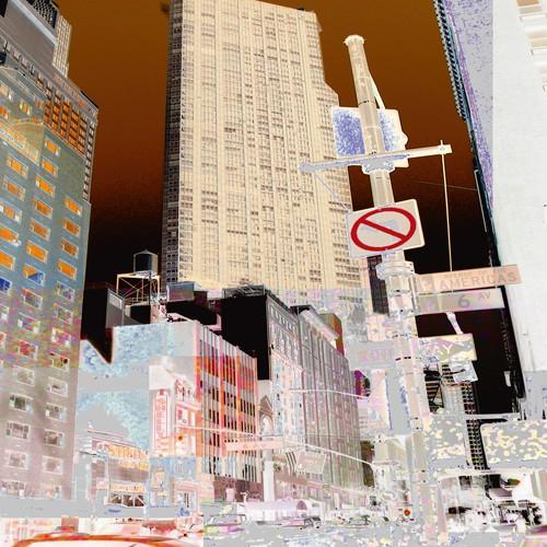 New York 6th Avenue von Mereditt.f