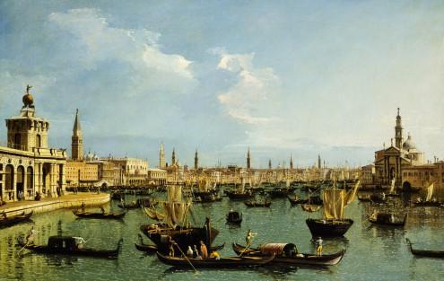 Bacino di San Marco, Venedig von Canaletto