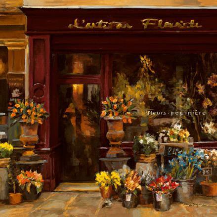 Parisian Shoppe I von Marilyn Hageman