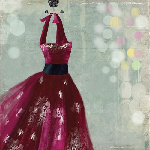 Fuschia Dress I von Aimee Wilson