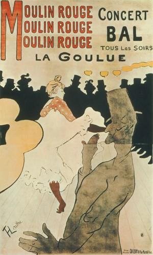 La Goulue au Moulin Rouge von Henri de Toulouse-Lautrec