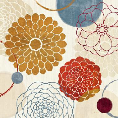 Abstract Bouquet II von Veronique Charron