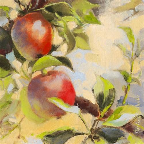 Les pommes I von Emmanuelle Mertian de Muller
