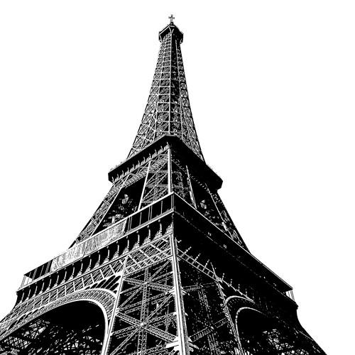 Tour Eiffel High von Dominique Massot
