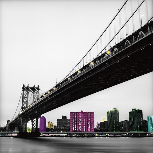 Manhattan Bridge von Anne Valverde