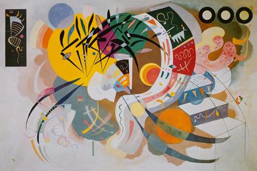 Curva Dominante von Wassily Kandinsky