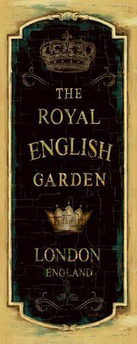Garden View IX - Royal English von Lisa Audit