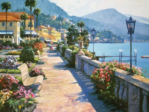 Bellagio Promenade von Howard Behrens