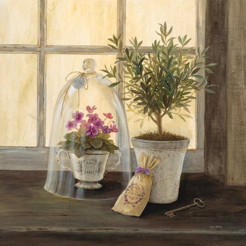 Lavender Window Garden von Angela Staehling