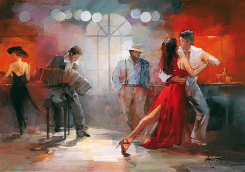 Tango von Willem Haenraets