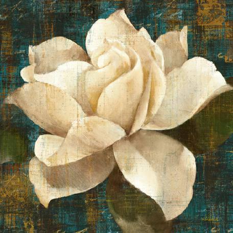 Gardenia Blossom Turquoise von Albena Hristova