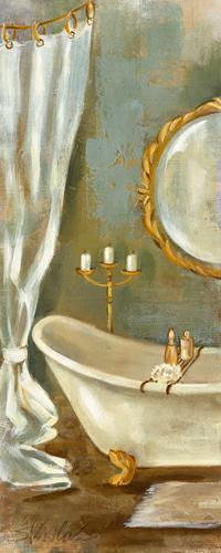 Vintage Bath I von Silvia Vassileva