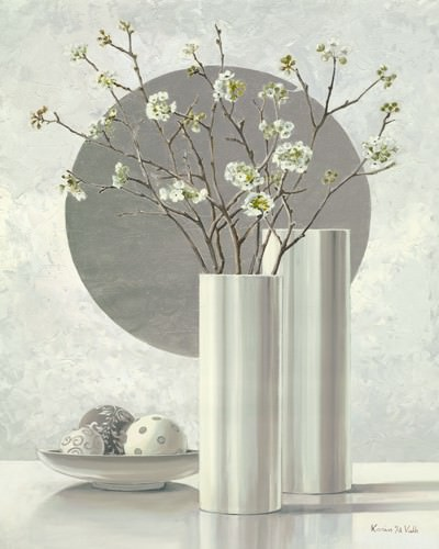 Silver Inspiration I von Karin van der Valk