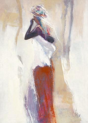 Silhouettes Africaines VI von Chantal Parise