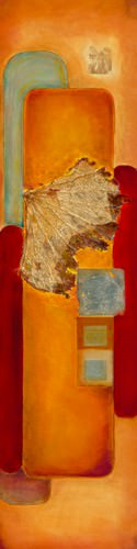 Les nenuphars d`or I von Lyne Perinciolo Duluc